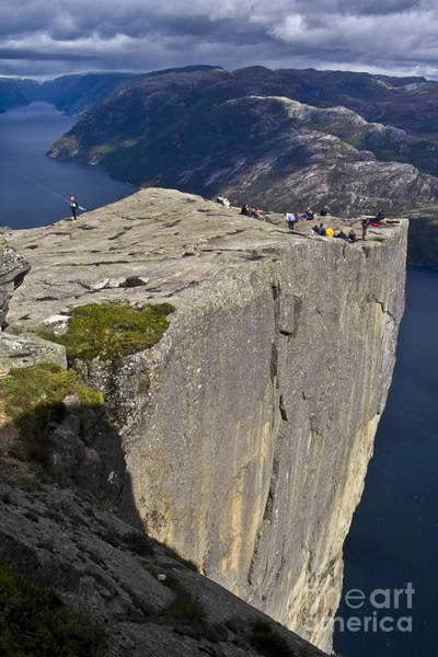 Photograph - Pulpit Rock by Heiko Koehrer-Wagner