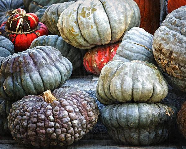 Photograph - Pumpkin Pile II by Joan Carroll