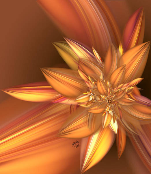 Digital Art - Pumpkin Spice by Karla White