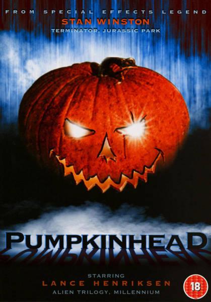 Pumpkinhead Wall Art - Photograph - Pumpkinhead, Uk Poster Art, 1988 by Everett