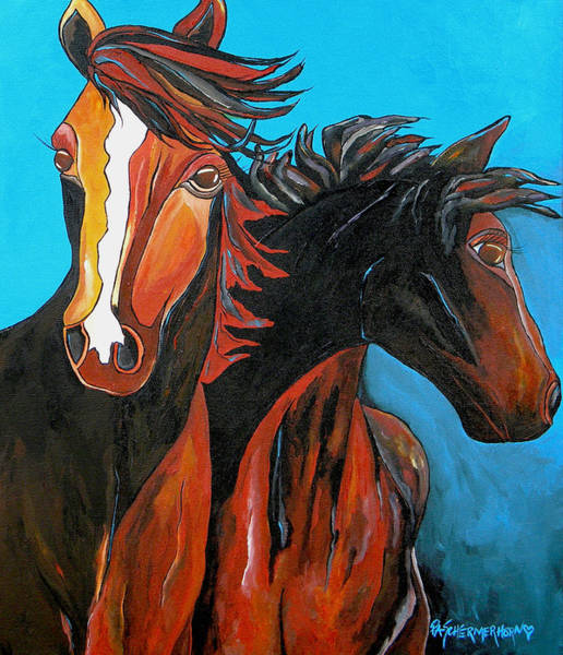 Painting - Pure Grace by Patti Schermerhorn