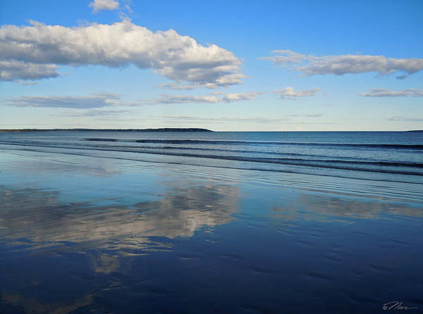 Photograph - Pure Reflection In Maine by Nancy Griswold