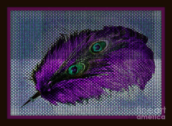 Photograph - Purple Feather by Donna Bentley