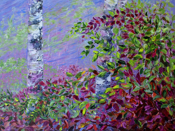 Painting - Purple Haze by Joanne Smoley