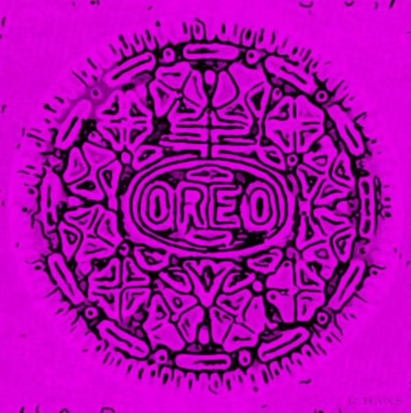 Nabisco Photograph - Purple Oreo by Rob Hans
