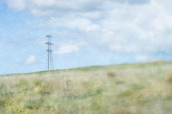 Horizontal Landscape Photograph - Pylon by Jill Ferry