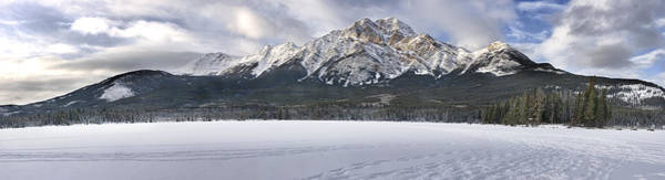 Photograph - Pyramid Mountain In Jasper National Park by Randall Nyhof