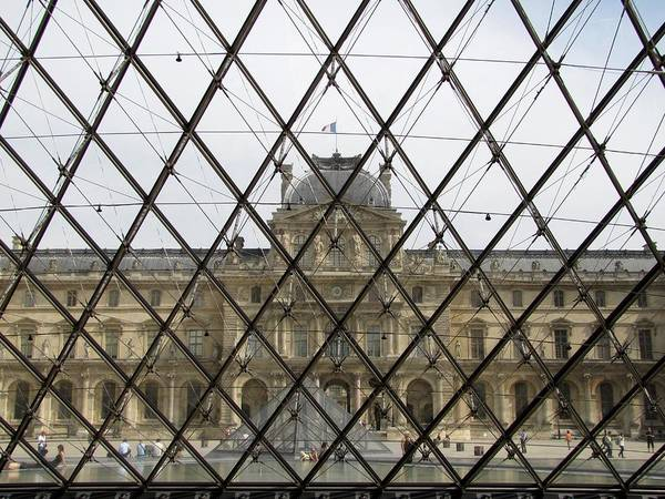 Photograph - Pyramide Du Louvre by Keith Stokes