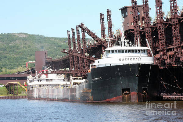 Wall Art - Photograph - Quebecois Ship by Lori Tordsen