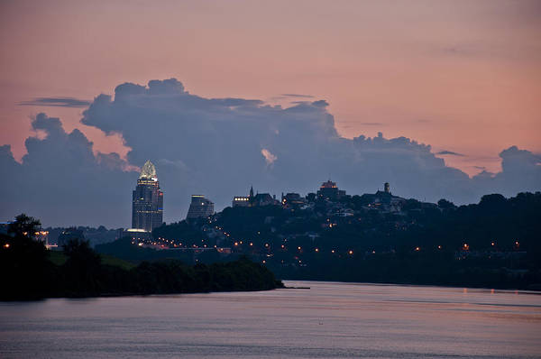 Photograph - Queen City Via The Ohio River by Russell Todd