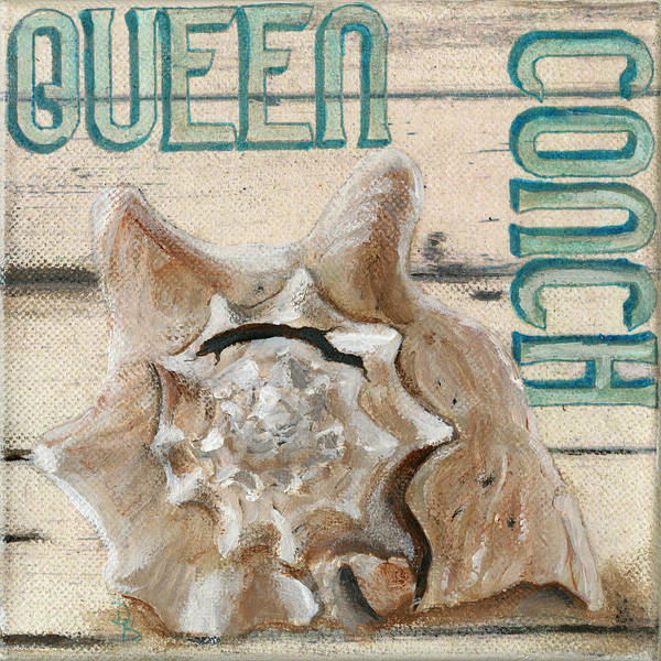 Painting - Queen Conch by Debbie Brown