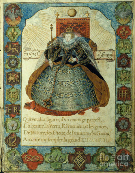 Photograph - Queen Elizabeth I by Granger