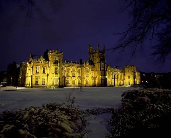 Horizontally Photograph - Queens University, Belfast, Ireland by The Irish Image Collection