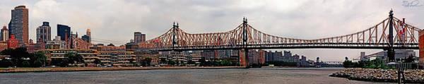 Elder Care Photograph - Queensboro Bridge by S Paul Sahm