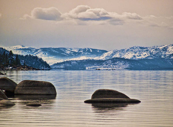 Photograph - Quiet Lake Tahoe by Martin  Gollery
