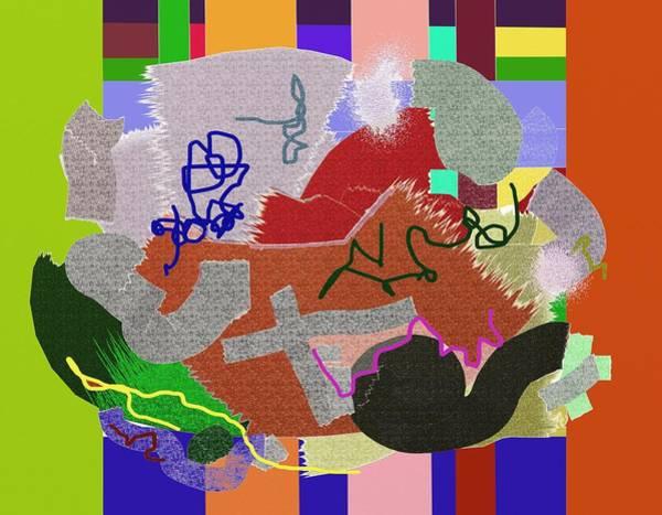 Painting - Quilt Scraps by Eugene Foltuz