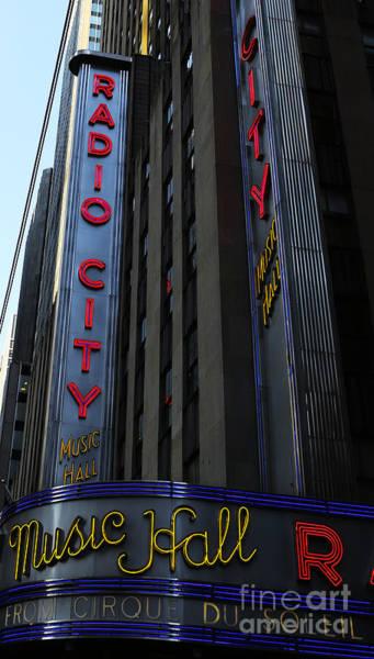 Wall Art - Photograph - Radio City Music Hall Cirque Du Soleil by Lee Dos Santos