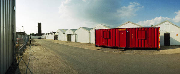 Taxiway Wall Art - Photograph - Raf Dumfries Technical Section by Jan W Faul