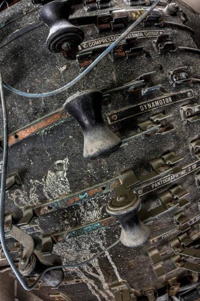 Wall Art - Photograph - Rail Controls by Joshua Ball