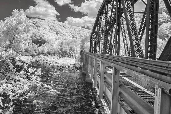 Photograph - Railroad Bridge by Mary Almond