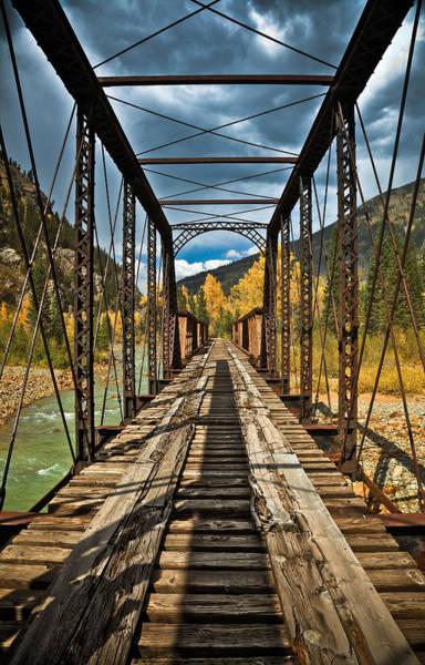 Wall Art - Photograph - Railroad Bridge by Patrick  Flynn