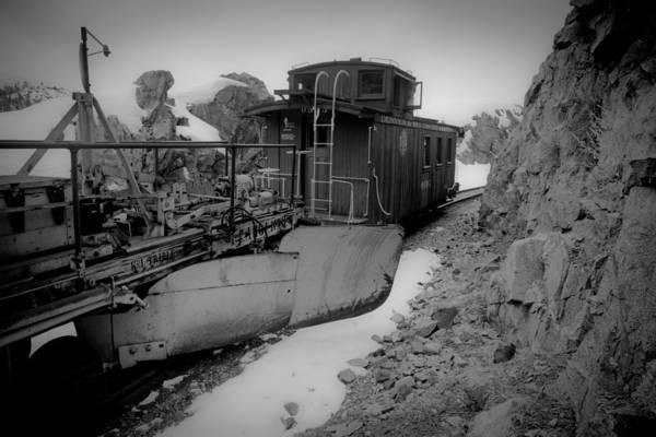 Wall Art - Photograph - Railroad Flanger by Patrick  Flynn