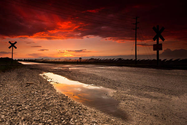 Wall Art - Photograph - Railroad Reflection by Cale Best