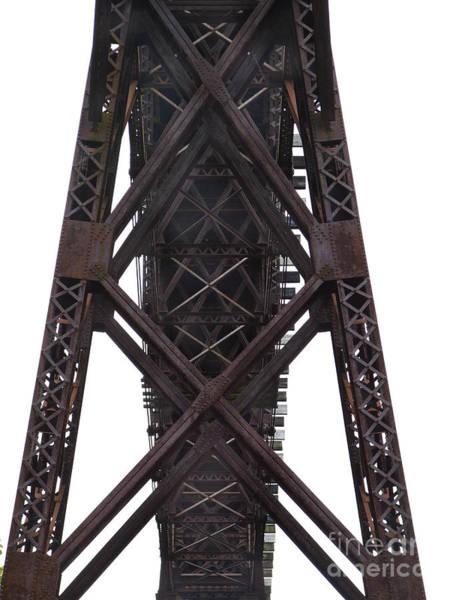 Photograph - Railroad Trestle Bridge Photograph by Kristen Fox
