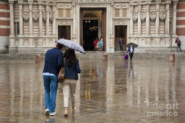 Wall Art - Photograph - Rain In London by Donald Davis
