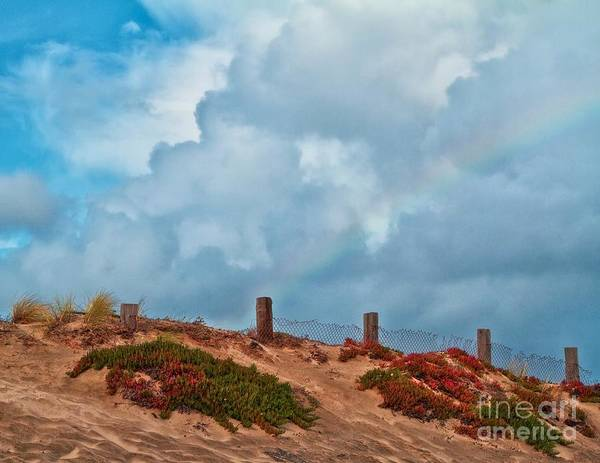 Gus Photograph - Rainbow After Passing Storm by Gus McCrea