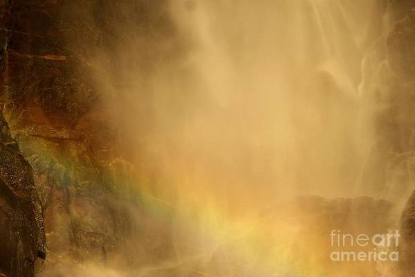 Photograph - Rainbow In The Mist by Adam Jewell