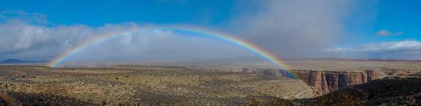 Wall Art - Photograph - Rainbow Over Grand Canyon by Twenty Two North Photography