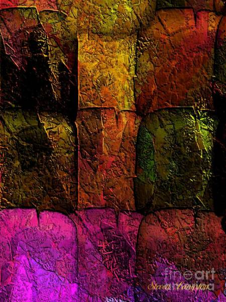 Wall Art - Painting - Rainbows And Stone 2 by Steven Lebron Langston