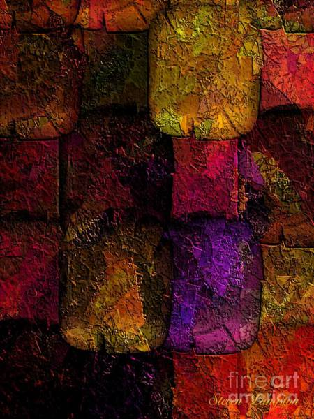Wall Art - Painting - Rainbows And Stones by Steven Lebron Langston
