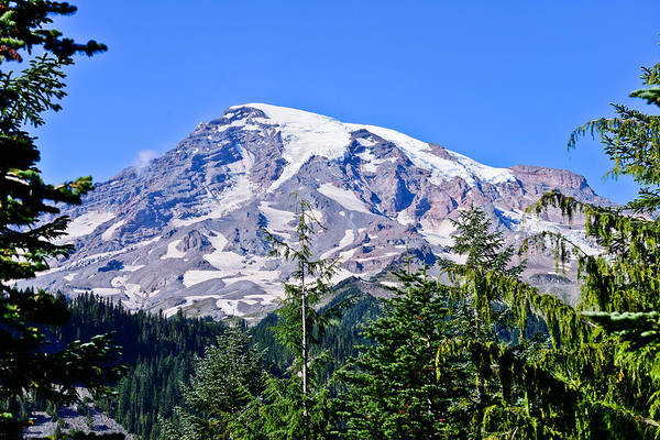 Photograph - Rainier In The Afternoon by Greg Norrell
