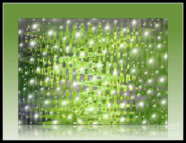Photograph - Raining Bubbles Abstract by Carol Groenen