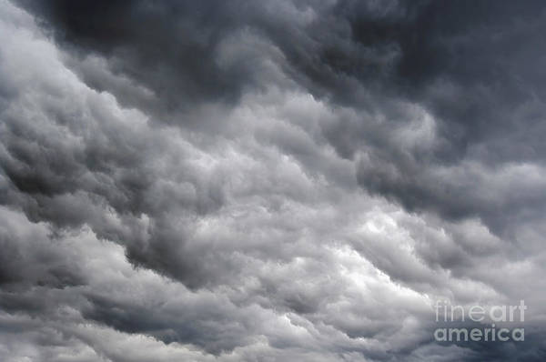 Rainy Clouds Art Print