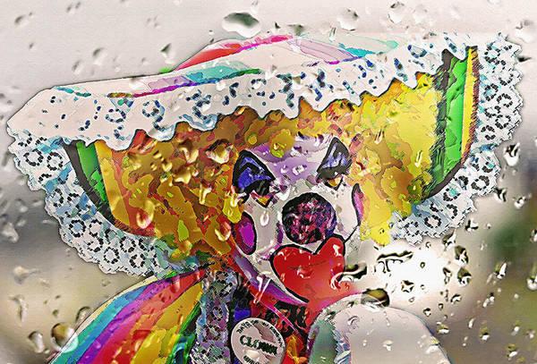 Fun Wall Art - Photograph - Rainy Day Clown by Steve Ohlsen