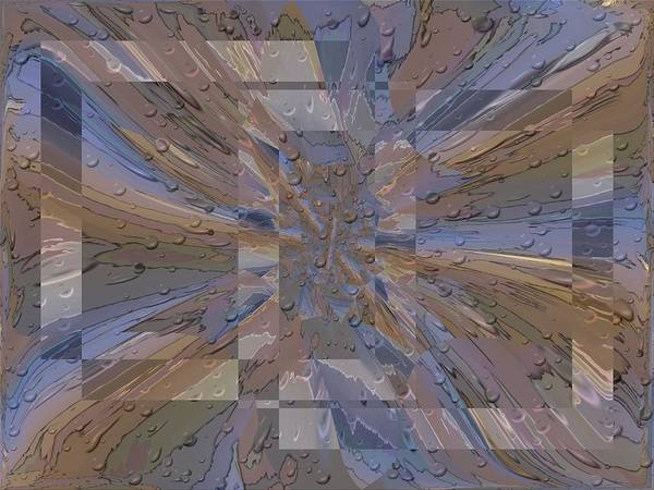 Purple Rain Digital Art - Rainy Day Portal 1 by Tim Allen