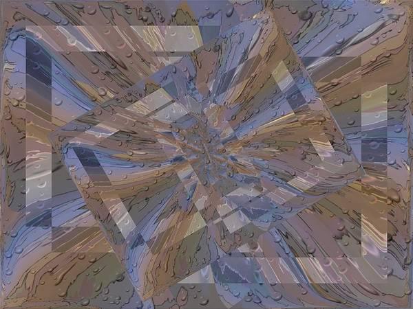 Purple Rain Digital Art - Rainy Day Portal 2 by Tim Allen