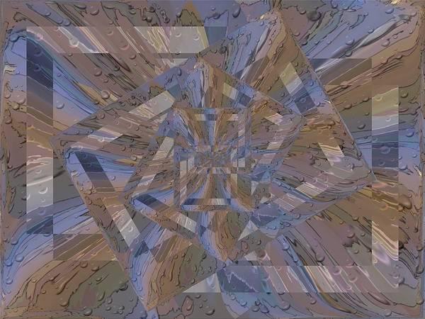 Purple Rain Digital Art - Rainy Day Portal 4 by Tim Allen