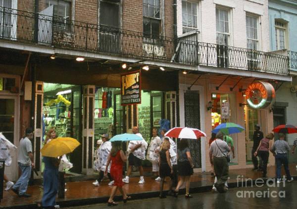 Photograph - Rainy Evening On Bourbon Street  by Thomas R Fletcher