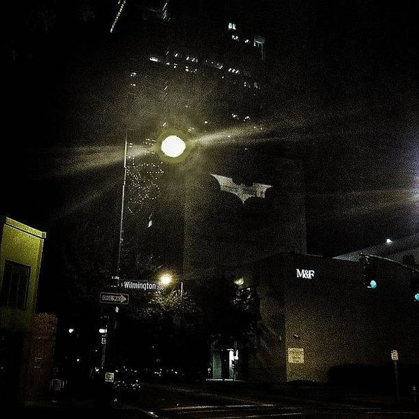 Gotham Wall Art - Photograph - Raleigh Needs The Batman by Britain Hayhurst
