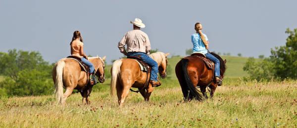 Photograph - Ranch Riders by Elizabeth Hart
