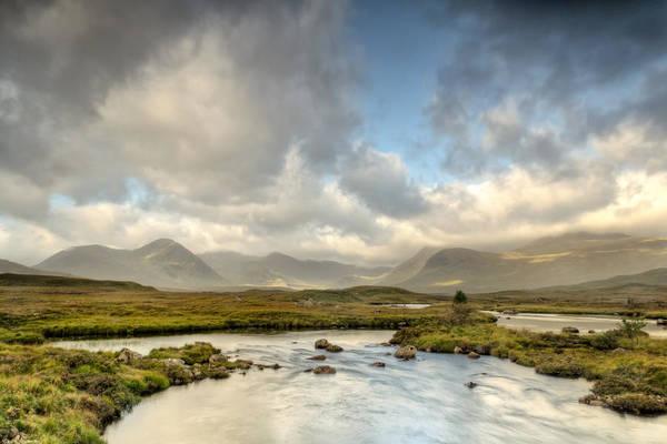 Fern Frost Photograph - Rannoch Moor Sunshine by Chris Frost