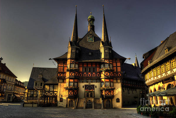 Rathaus Photograph - Rathaus At Wernigerode by Rob Hawkins