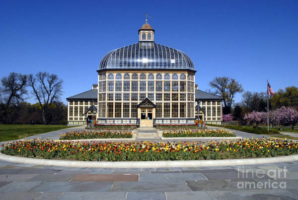 Photograph - Rawlings Conservatory And Botanic Gardens Of Baltimore 1 by Walter Neal