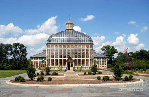 Photograph - Rawlings Conservatory And Botanic Gardens Of Baltimore 2 by Walter Neal
