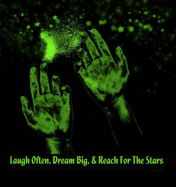 Digital Art - Reaching For The Stars by Ericamaxine Price