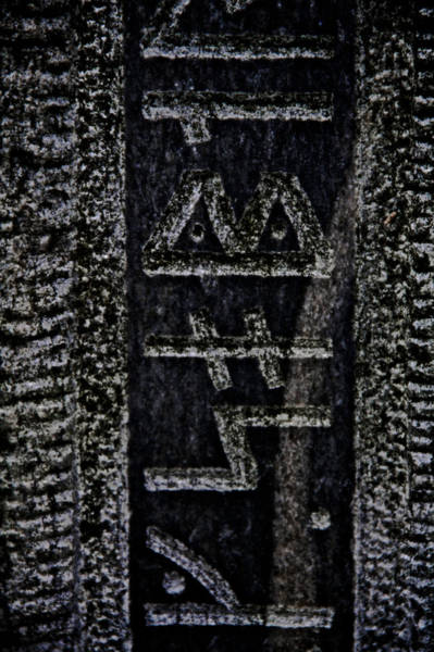 Wicca Photograph - Reading Stones by Odd Jeppesen